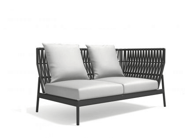 Roda Piper belt Sofa left in grau