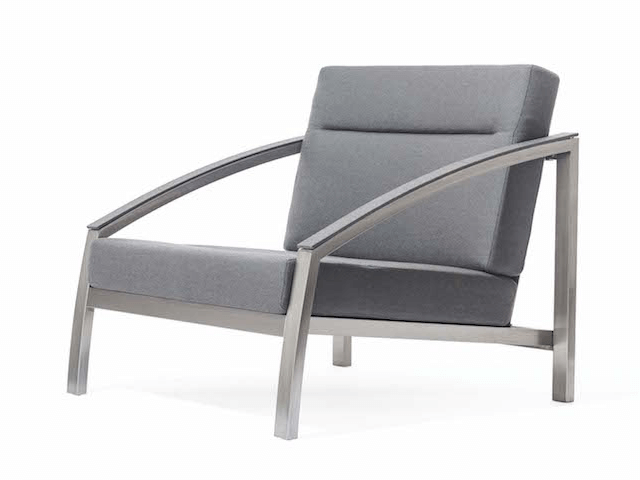 Todus Alcedo Sofa Club Chair in grey