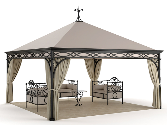 Unosider Gazebo Malatesta Luxury Pavillon