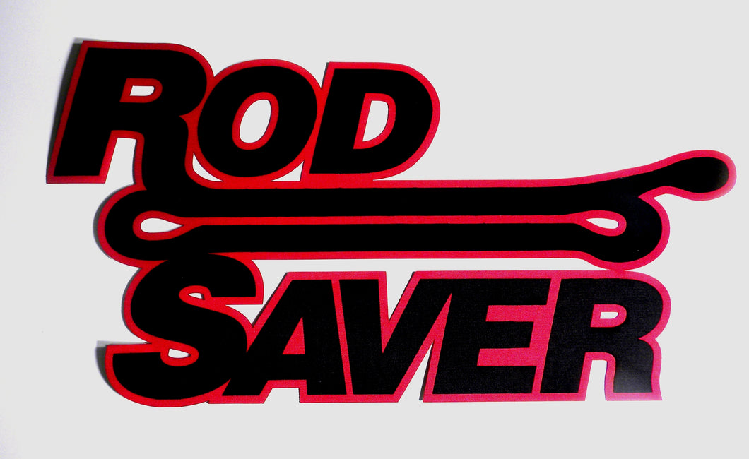 FGRS  -  Rod Saver 2 Color Carpet Graphic