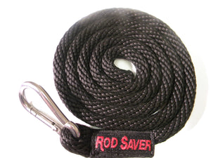 "BTD R8  -  Bow Tie-Down 5/8"" Poly Braided Rope w/SS Karabiner"