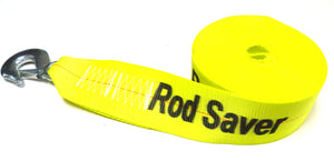 "WS3Y25  -  Rod Saver Extra Heavy Duty Replacement Winch Strap 3"" x 25'"