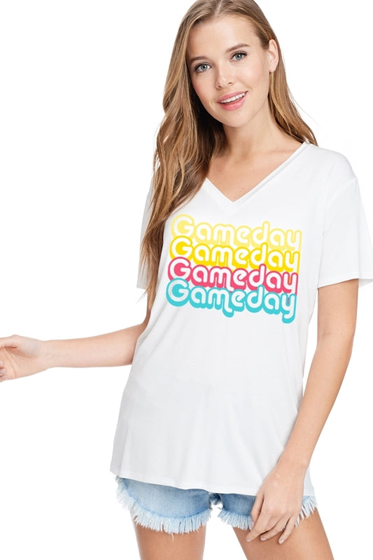 """Game Day"" Graphic T"