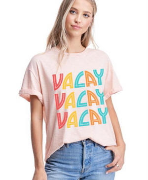 Vacay Vacay Graphic Top