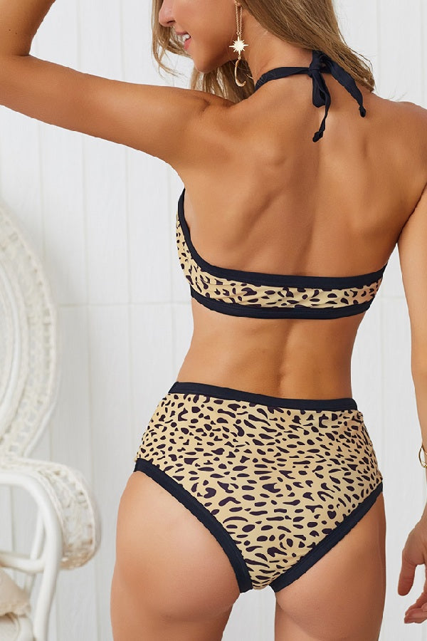 Leopard Two Piece Bikini (Pieces Sold Separately)