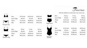 Black Scalloped Cut Bikini (pieces sold separately)