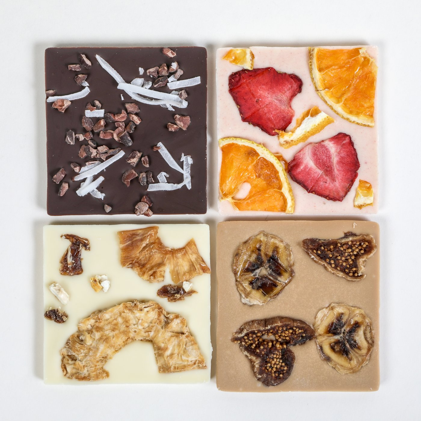 Locally Crafted Organic Fruit Chocolate