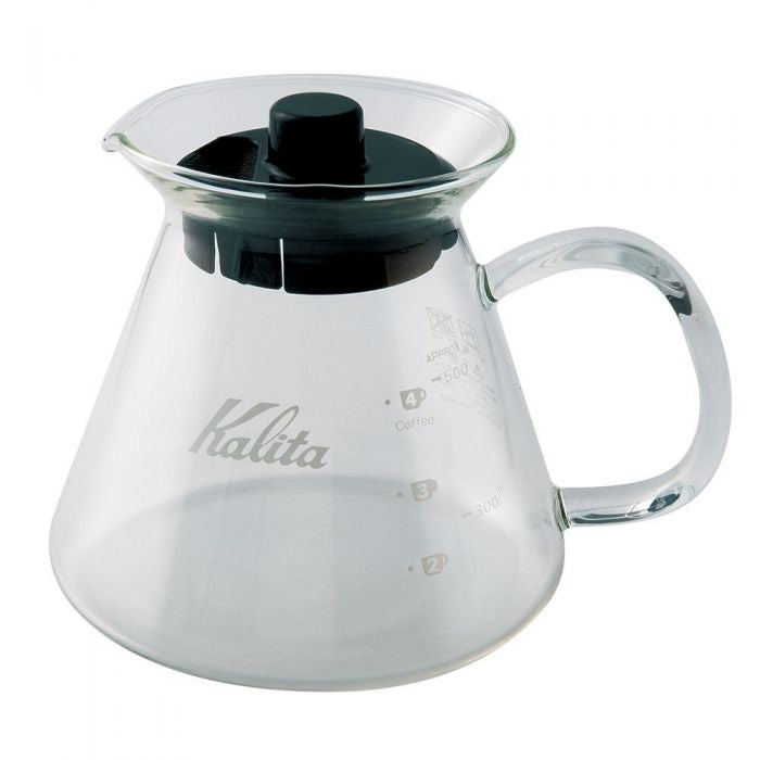 Kalita Wave Glass Server 500mL Home Brew Coffee