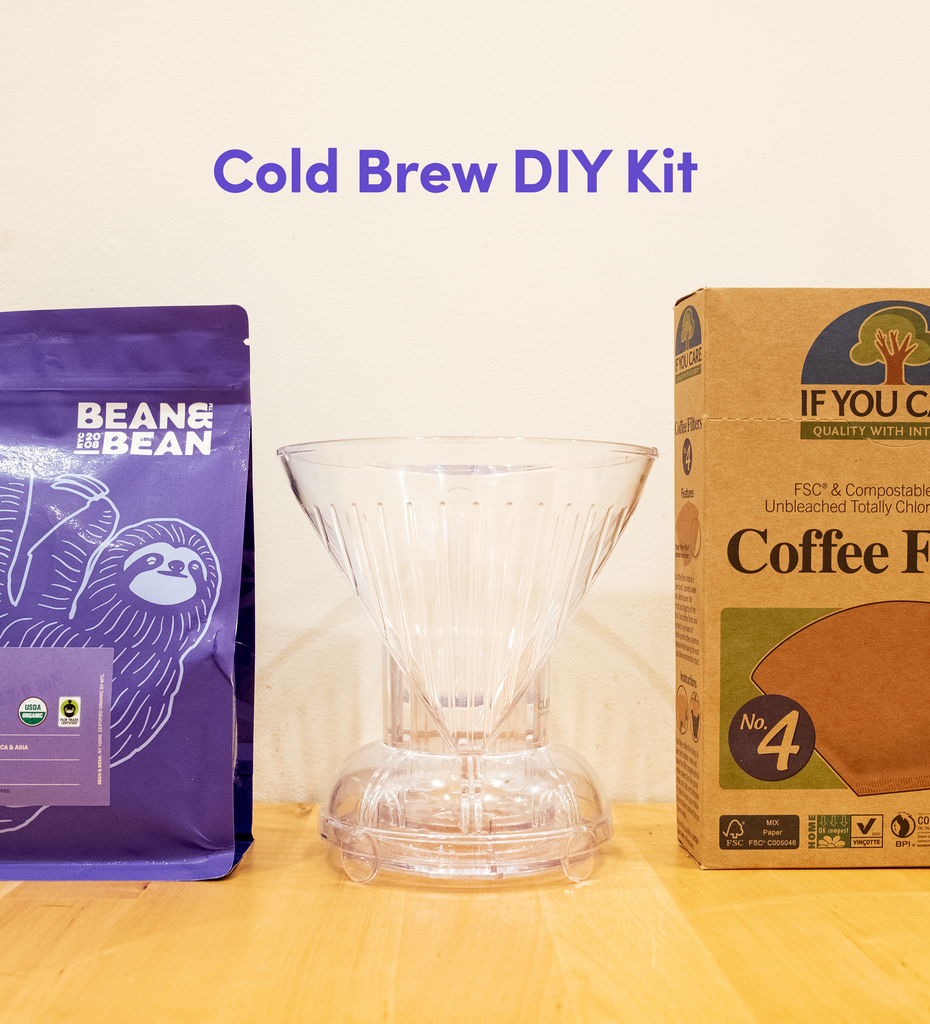 cold brew diy do it yourself coffee kit clever dripper if you care quality filter fsc compostable coffee filter no.4 filter