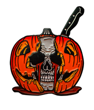 "Load image into Gallery viewer, HALLOWEEN II ""Crying Skull"" Enamel Pin"