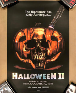 "24x36 HALLOWEEN II ""CRYING SKULL"" SCREENPRINT FOIL VARIANT (Signed Artist Proof)"
