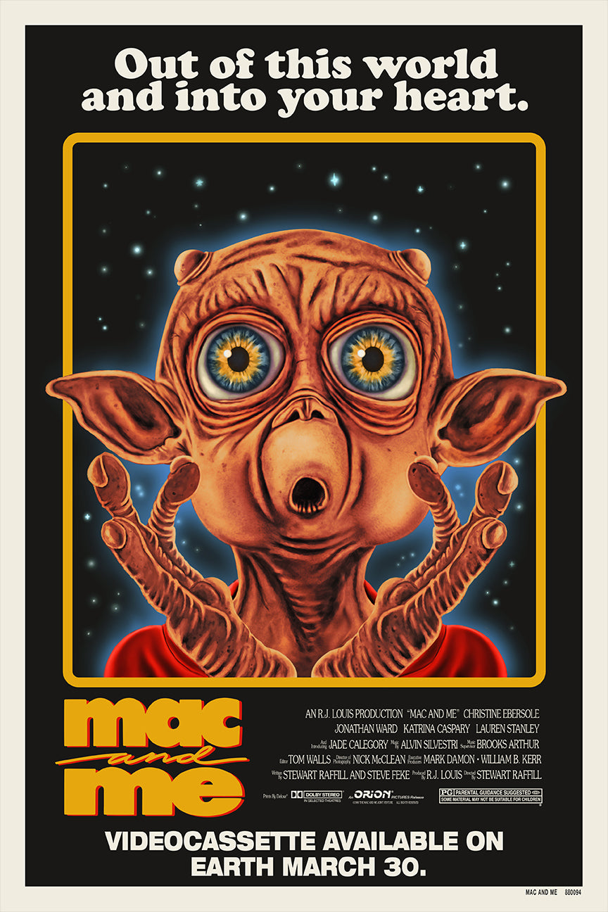 24x36 Mac and Me Screenprint
