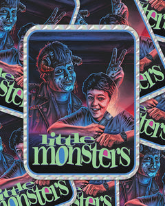 """LITLLE MONSTERS"" PRISM STICKER"