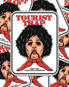"""TOURIST TRAP"" PRISM STICKER"