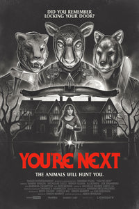 "12x18 ""YOU'RE NEXT"" NEWSPAPER AD (Matte Print)"
