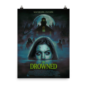 """THE DROWNED"" 18X24 MATTE FINISH POSTER PRINT"