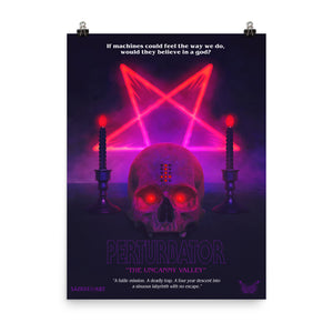 "PERTURBATOR ""THE UNCANNY VALLEY"" 18X24 POSTER PRINT"