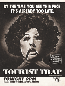"12x16 ""TOURIST TRAP"" VINTAGE TV AD (Giclee/ Matte Finish)"