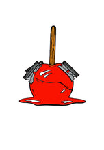 Load image into Gallery viewer, Candy Apple Razor Enamel Pin