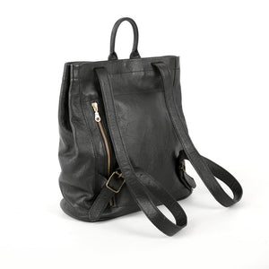 Genuine Leather Premium Backpack