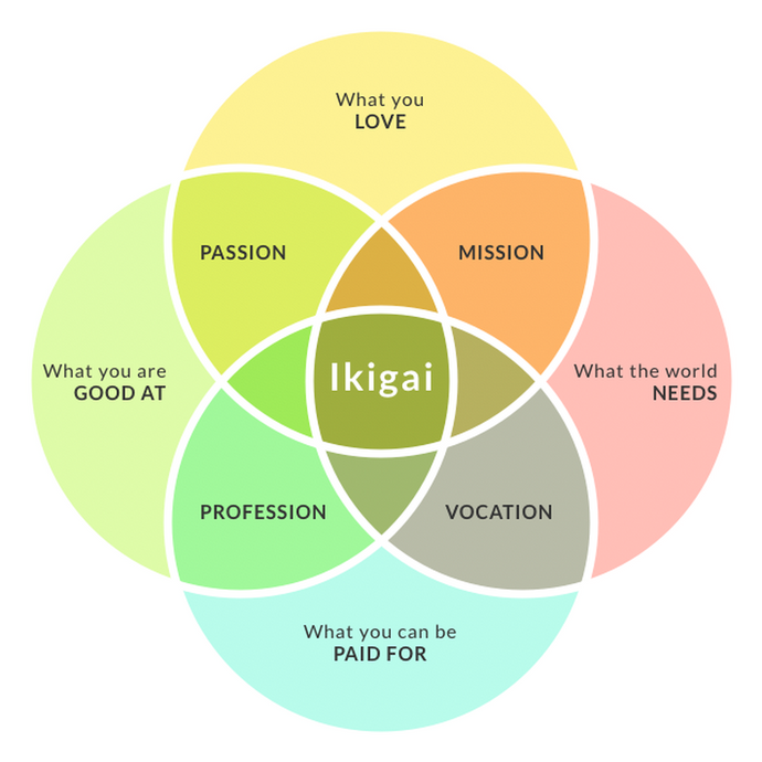 Finding your Ikigai......