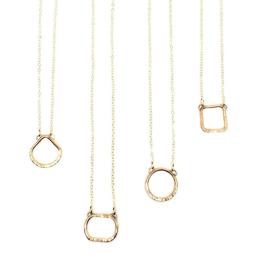 "14K Gold-Filled ""Comfort"" Layering Necklace - K Kay Designs"