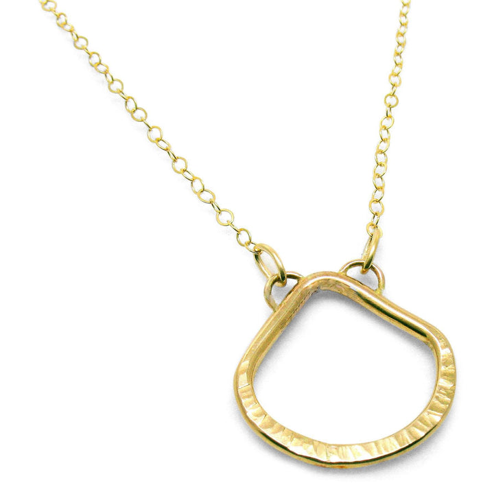 "14K Gold-Filled ""Love"" Teardrop Layering Necklace - K Kay Designs"