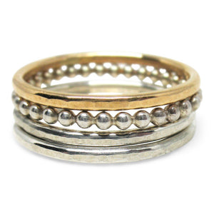14K Gold-Filled Stackable Ring - K Kay Designs