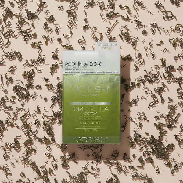 Green Tea Detox Pedi in a Box 4 Step