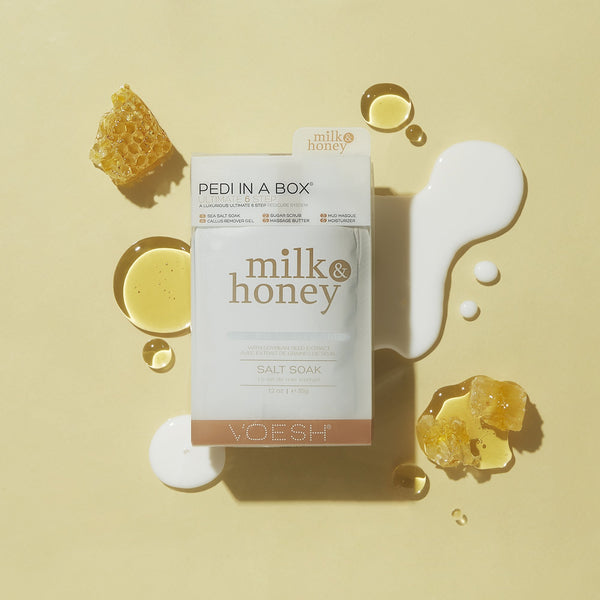 Milk & Honey Pedi in a Box 6 Step