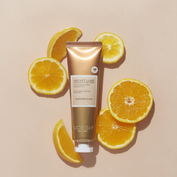 Tangerine Glow Vegan Hand & Body Créme Duo ($31 value)