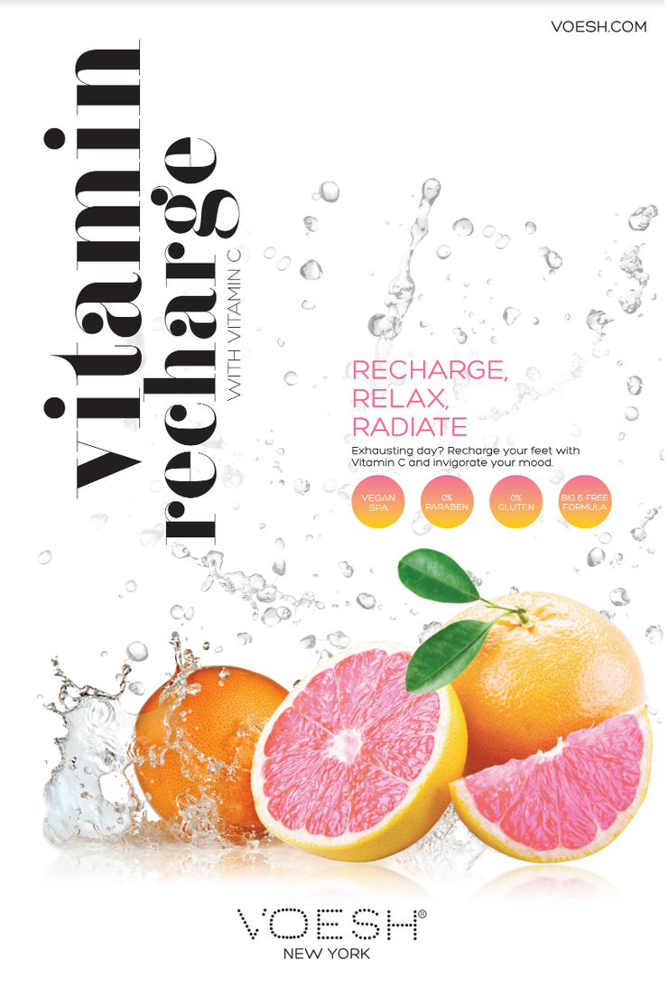 Vitamin Recharge Poster