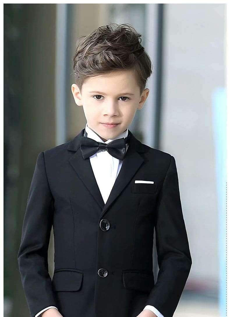 Boys Colorful Formal Suits 5 Piece Slim Fit Dresswear Suit Set