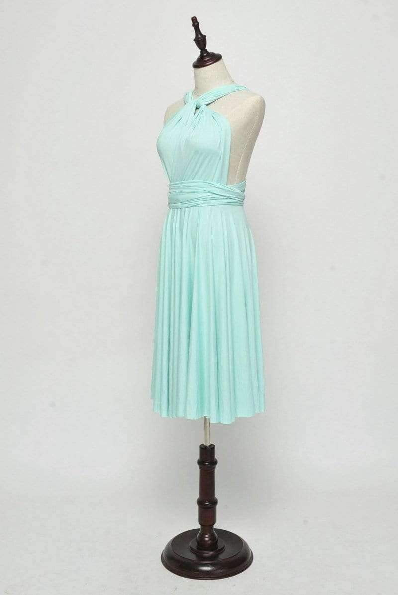 Mint Green Convertable Dress,Multiway,Infinity Bridesmaids Dress