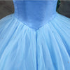 Fairy 16 Quinceanera Dresses Light Blue Off Shoulder With Butterfly Tiered Organza Ball Gowns