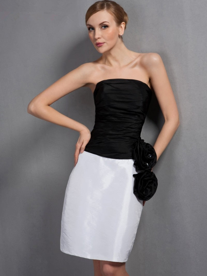 Black 2020 Mother Of The Bride Dresses Sheath Taffeta With Jacket Plus Size Short Elegant Groom Mother Dresses Wedding
