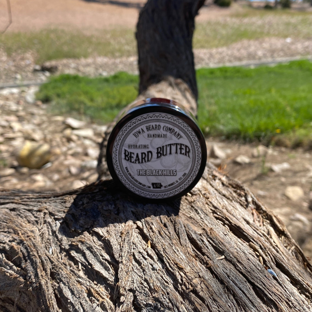 Iowa Beard Co The Black Hills Beard Butter