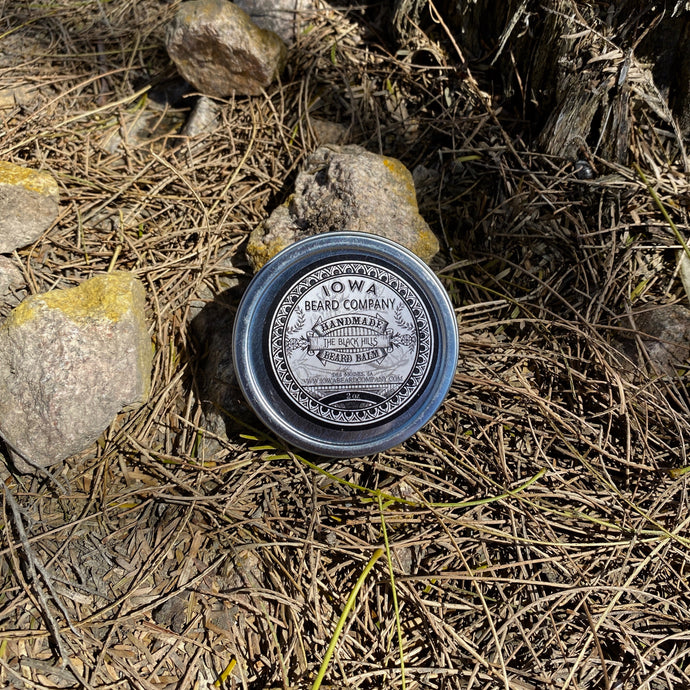 Iowa Beard Co The Black Hills Beard Balm