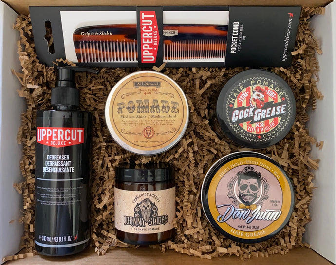 The Classic Gentleman Mystery Pomade Box