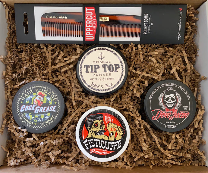 The Modern Gentleman Mystery Pomade Box