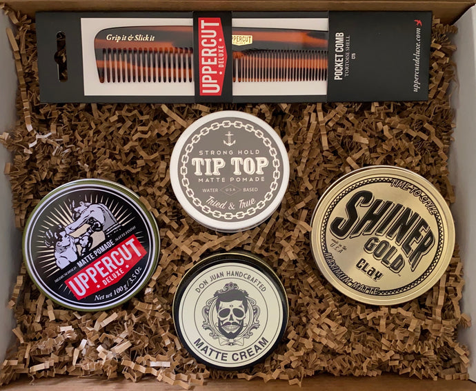 The Natural Gentleman Mystery Pomade Box