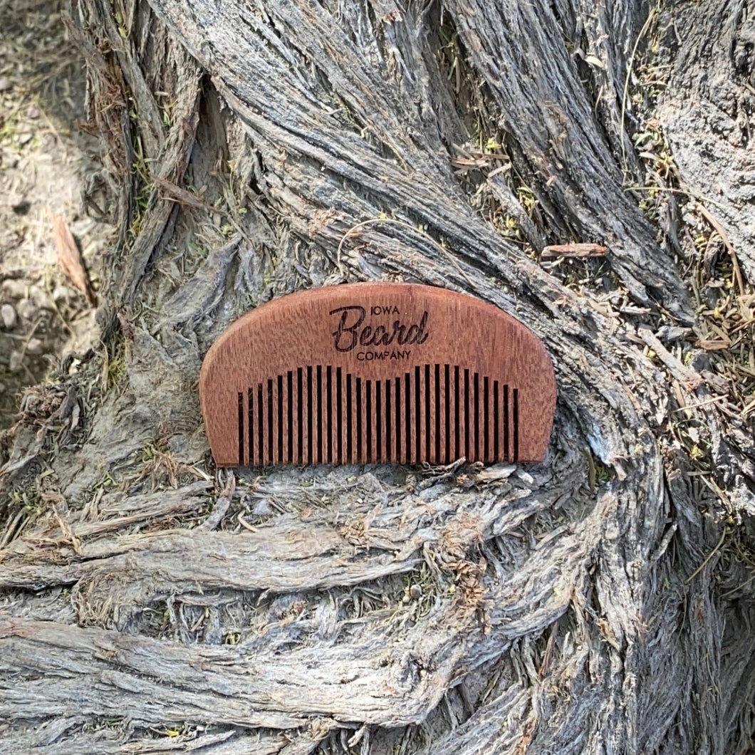 Iowa Beard Company Wood Beard Comb