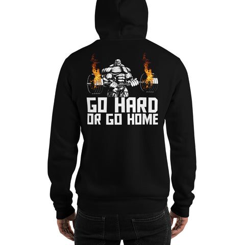 Go Hard 2 Motivation Gildan Hoodie