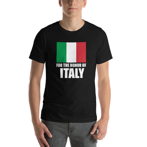 Italy Honor Canvas  Unisex T-Shirt