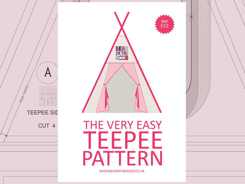 The Very Easy Teepee Pattern: Floor Mat