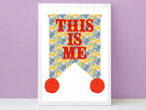THIS IS ME Print - Koala Print lemon