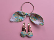 Load image into Gallery viewer, Koala Print Hair Accessories - Blue