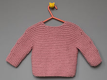 Load image into Gallery viewer, SALE Hand knitted Cardigan - Pink