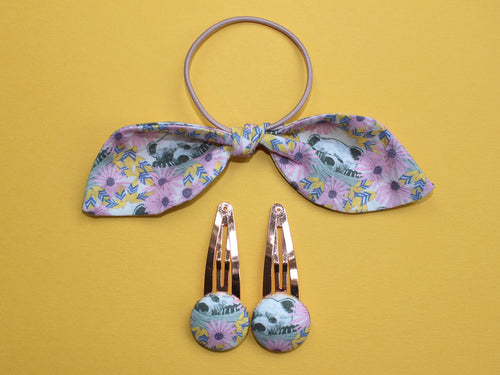 Hair Accessories - Cub Print Yellow