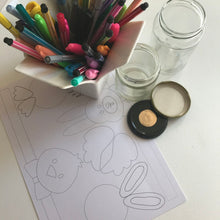 Load image into Gallery viewer, A FREE DOWNLOAD Easter jars
